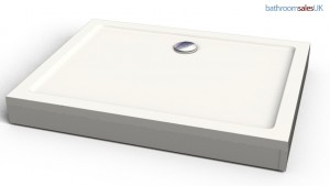 3D rendered shower tray